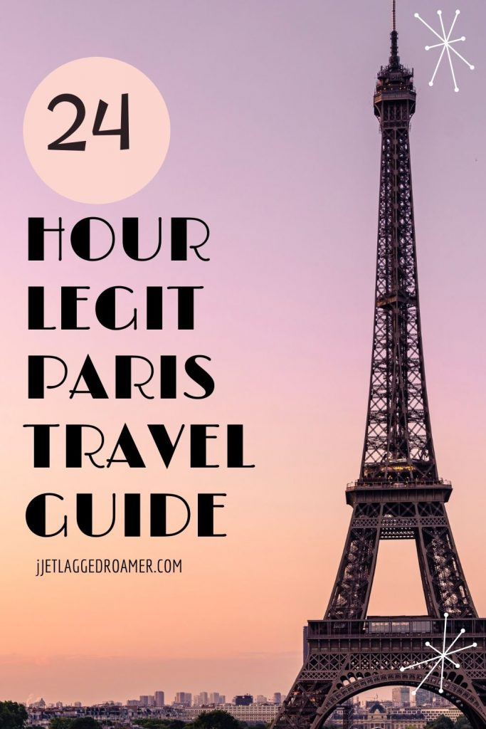 IMAGE OF THE EIFFEL TOWER DURING SUNSET TAX RATES 24 HOUR LEGIT PARIS TRAVEL GUIDE.