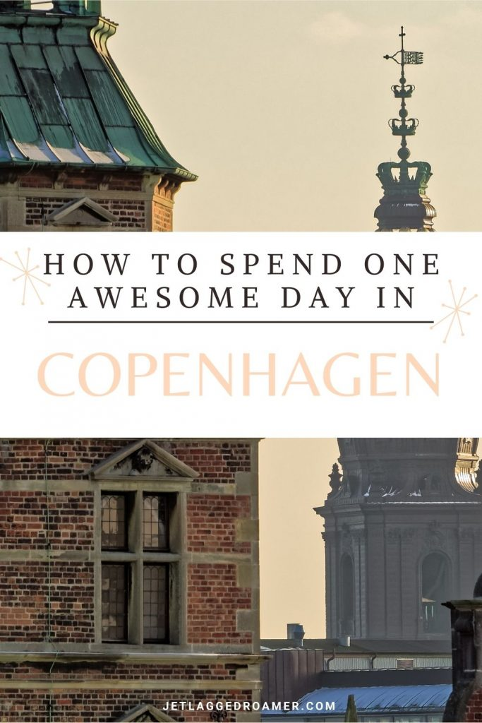 Text reads how to spend on awesome day in Copenhagen