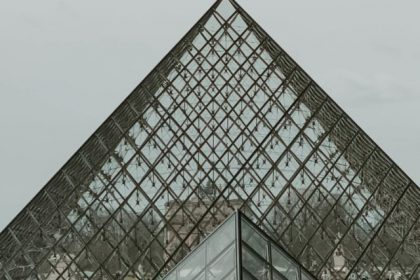 Picture of the Louvre what you must see during 24 hours in Paris.