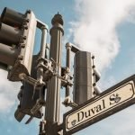Duval street sign one of the top things to do in Key West is walk this street