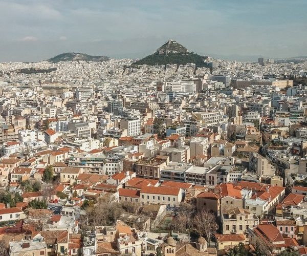 Picture of Mount Lycabettus. Top things for what to do in Athens.