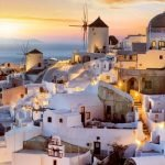 QUOTES ABOUT GREECE PICTURES OF SANTORINI DURING SUNSET