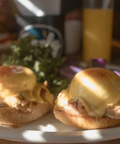Kahala eggs Benedict from Goofy's one of the best places to eat in Oahu.