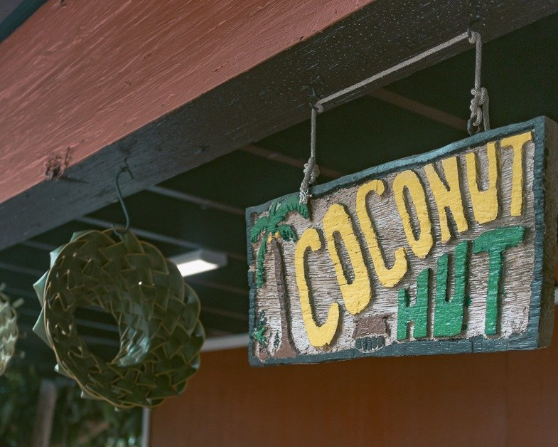 sign at the macadamia nut farm one of the top Oahu Island attractions